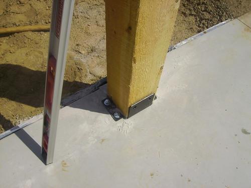 Pole Barn Post Brackets : Pole barn kits you can build yourself