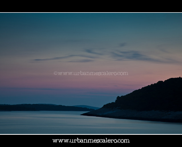 Hvar [Croatia] - Dusk over the Adriatic Sea