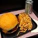 bacon cheeseburger cake by debbiedoescakes
