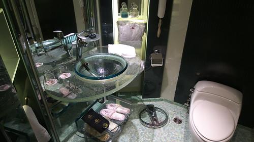 ホテル リスボアのロイヤルスイート トイレ