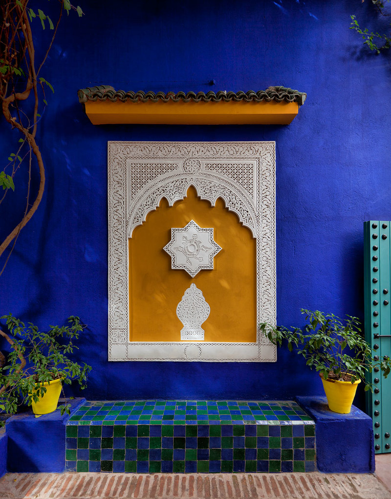 villa majorelle marrakech morocco flickr photo sharing. Black Bedroom Furniture Sets. Home Design Ideas
