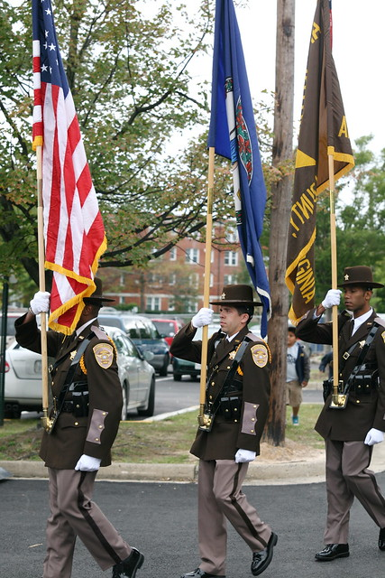 Arlington county sheriff s department honor guard