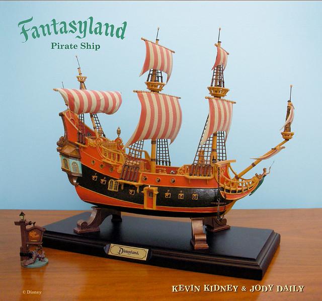 Disneyland Pirate Ship Restaurant Replica