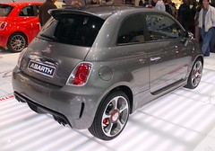 family car(0.0), automobile(1.0), automotive exterior(1.0), fiat(1.0), fiat 500(1.0), wheel(1.0), vehicle(1.0), automotive design(1.0), city car(1.0), compact car(1.0), bumper(1.0), fiat 500(1.0), land vehicle(1.0), luxury vehicle(1.0),