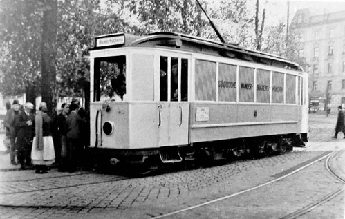 Bookmobile Streetcar Germany