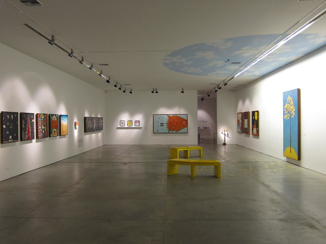 Gallery space in Museu del Arte Moderno, Medellin