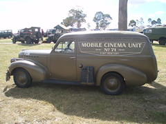 1940 Chevrolet panel van - Mobile Cinema Unit