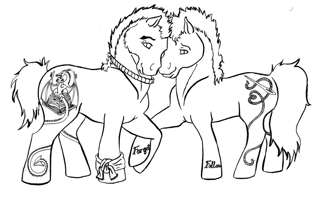 breyer horse coloring pages printable - photo#19