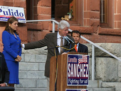 Bill Clinton, Santa Ana, 10-15-2010