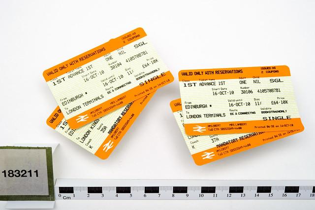 Train ticket deals to london from edinburgh