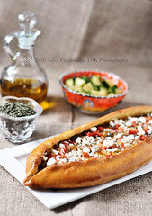 Na'Na Caramelised Onion & Olive Pide With Feta 1
