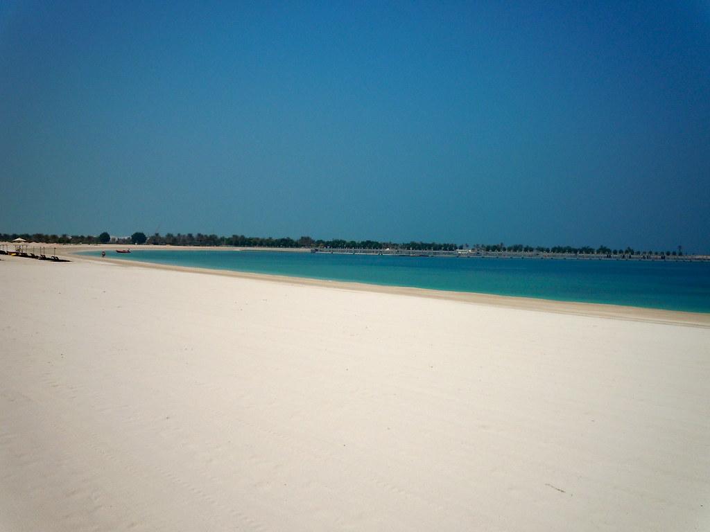 пляж абу даби фото