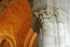 Chapiteaux de l'église Notre-Dame d'Autheuil - Orne - Basse Normandie