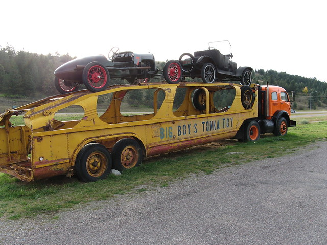 Old Car Hauler