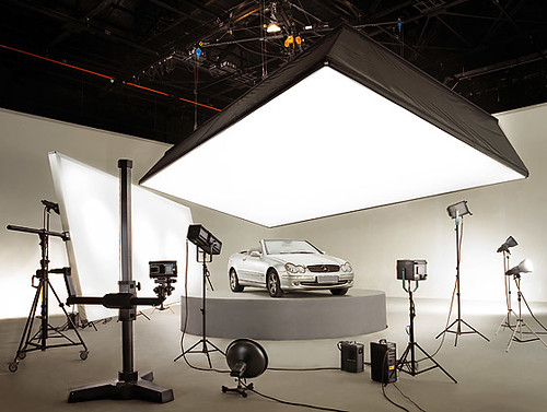 car photo studio