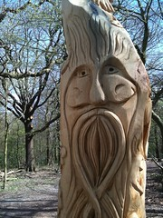 carving, art, ancient history, chainsaw carving, wood, tree, sculpture, stele, statue,