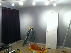 iPhone 18% grey wall paint