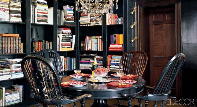 black rooms main elle decor flickr photo sharing. Black Bedroom Furniture Sets. Home Design Ideas