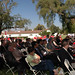 Panoramic of Attendees of Broome Library Groundbreaking