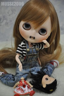 Custom Blythe doll ANILINA - Desperate !