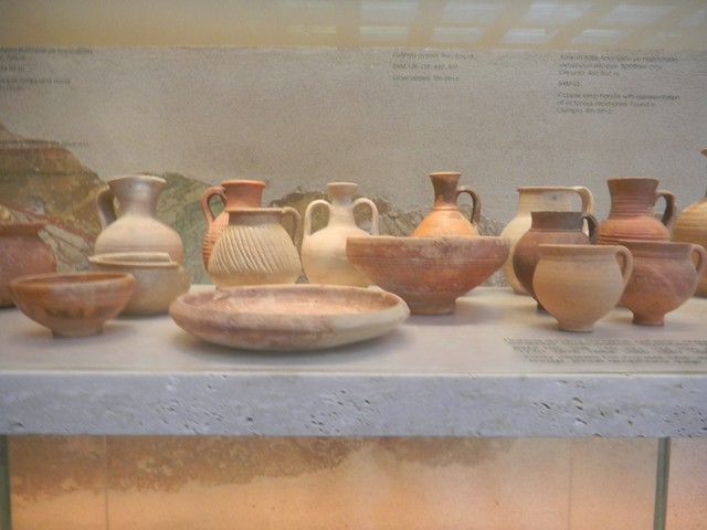 Cups, dishes and jugs