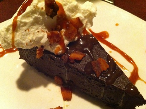 Flourless chocolate cake from alex stanislaw at plantation house and more incredible bacon experiences