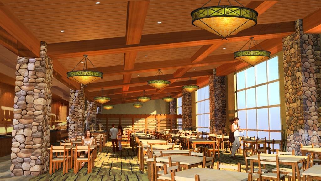 Buffet Design Rendering - Interior 3D Design - Buffet ...