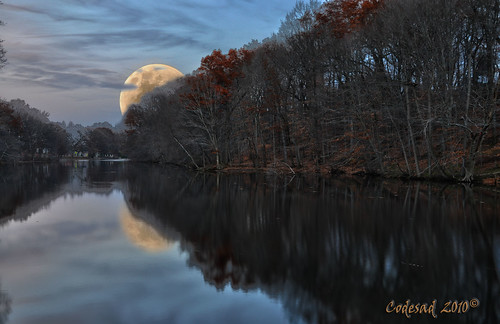sunset moon forest reflections landscapes newjersey scenery skies shadows dusk scenic nj sunsets fullmoon jersey nightsky gibbous waxing waning cranford scenicview moonsetting fallinnewjersey codesad