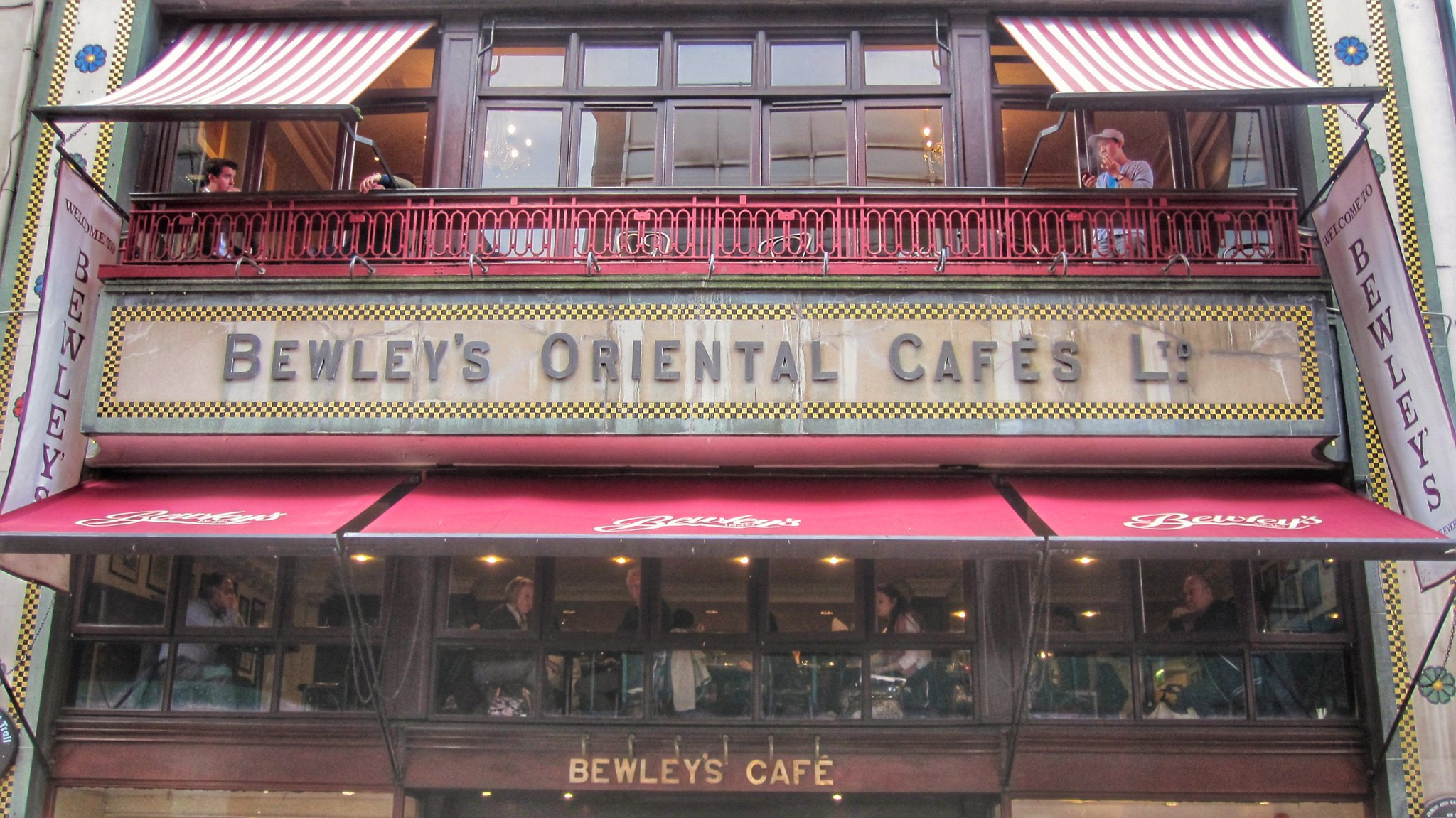 Bewleys Cafe, Grafton Street, Dublin