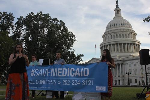 Speaking on Medicaid