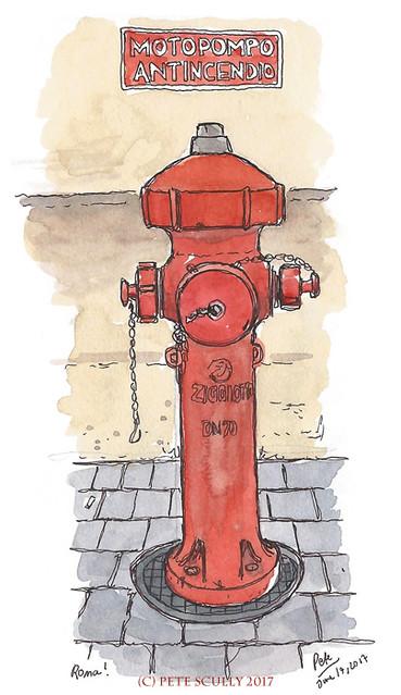 Rome Hydrant sm