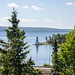 Kidston Island Lighthouse from Bell National Historic Site - Baddeck, Cape Breton Island, Nova Scotia by BlueVoter - thanks for 2M views