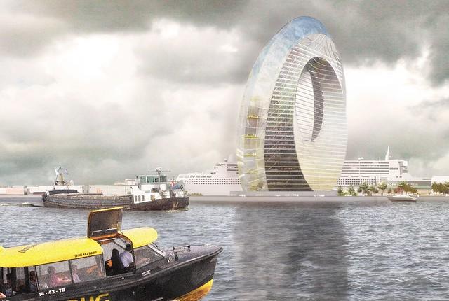 Dutch Windwheel Rotterdam