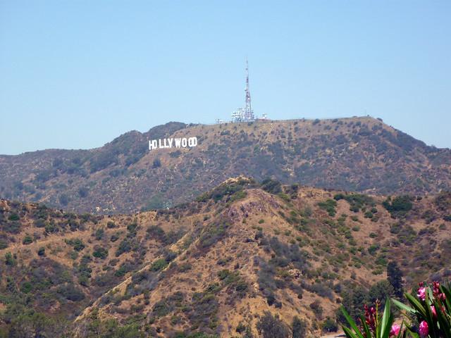 Hollywood, desde el Observatorio Griffith