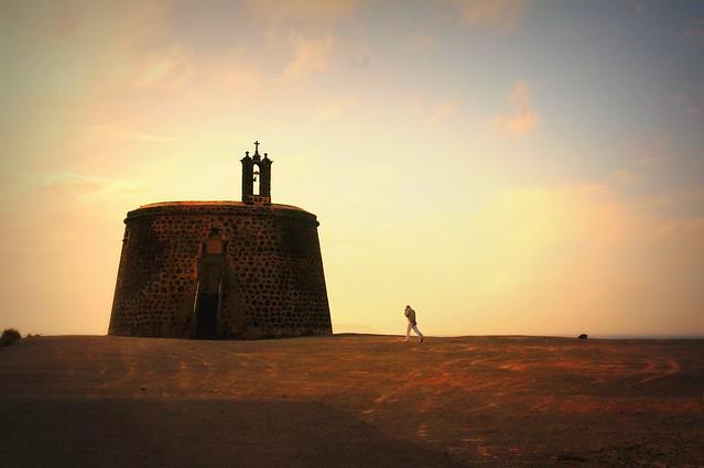 Castle in Lanzarote - Flickr CC stevepj2009