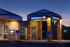 Bank Branding | Exterior Bank Upgrade | Bank of America by I-5 Design & Manufacture