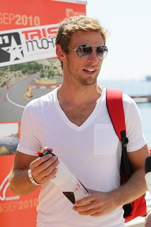 Jenson Button at TriStar Monaco