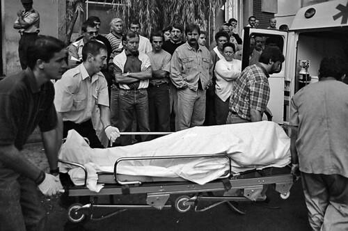 ACCIDENTE NICOLASA. 14 MUERTOS. AGOSTO 1995