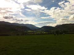 From Castlerigg stone circle