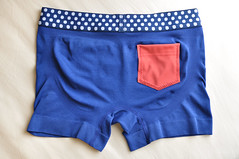 pattern, textile, underpants, clothing, trunks, pocket, briefs, blue, shorts,