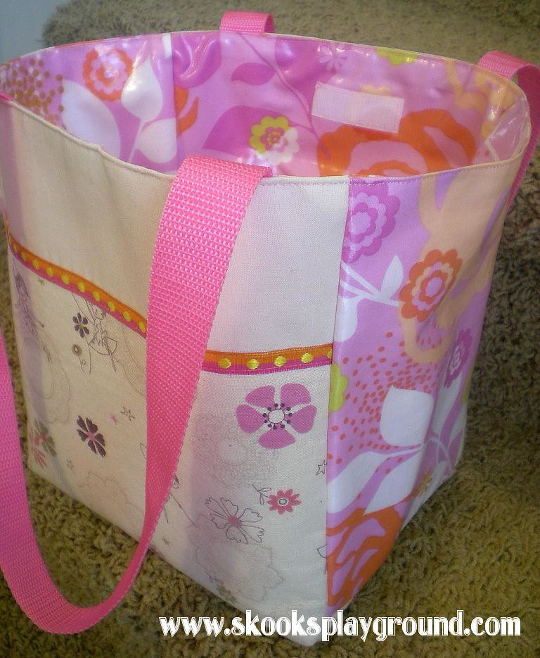 Dual Purpose Lunch Bag/Dance Bag
