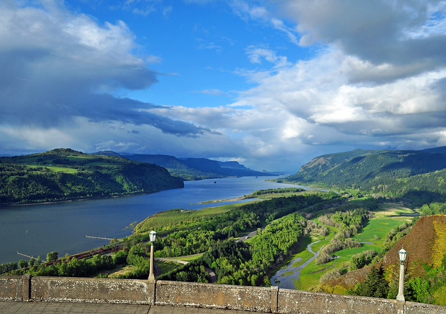 View from the Historic Columbia River Highway