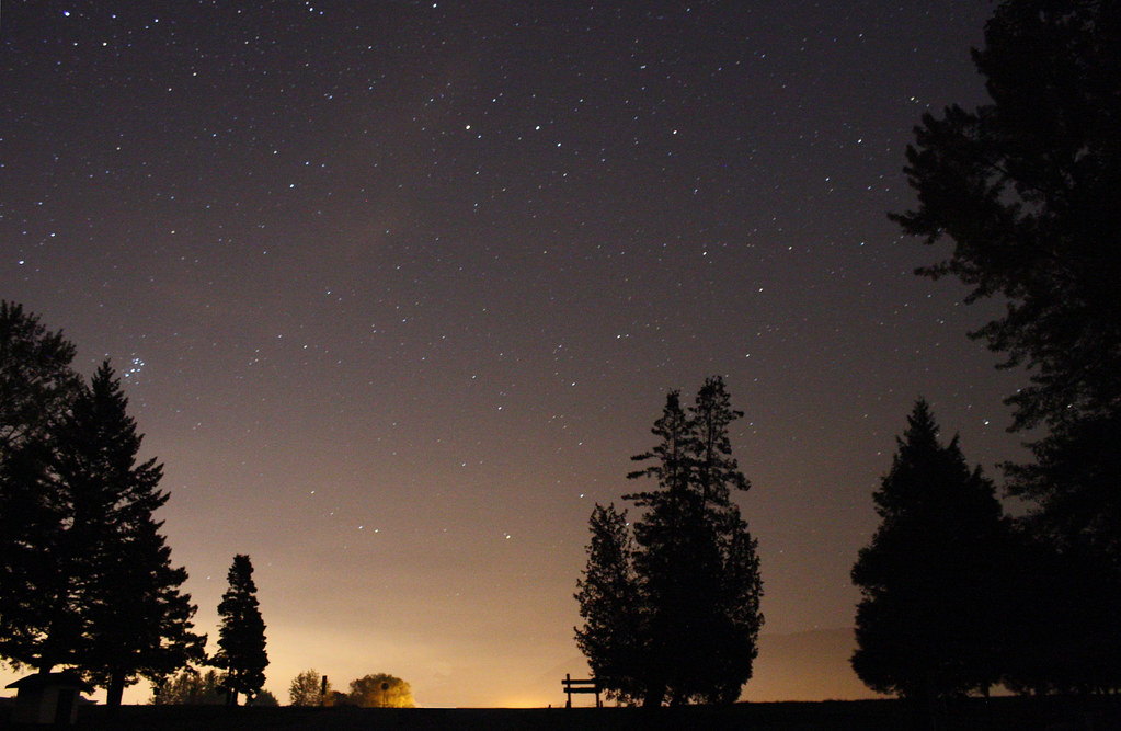 Night Stars - McDonald Park, Abbotsford BC