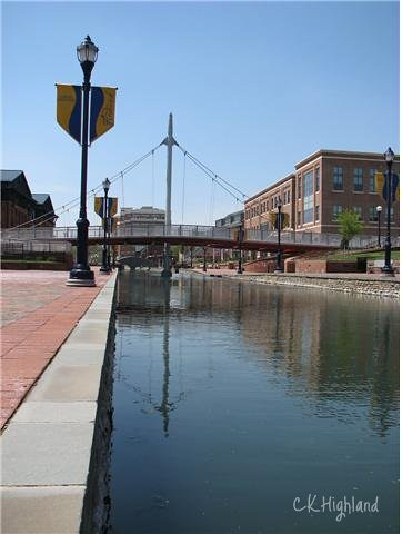Carroll Creek in Downtown Frederick