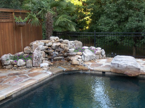 swimming-pool-custom-stone-waterfall