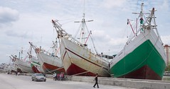 Jakarta's harbor