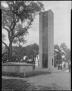 The Alamo memorial, San Antonio, Texas., 05/1938.
