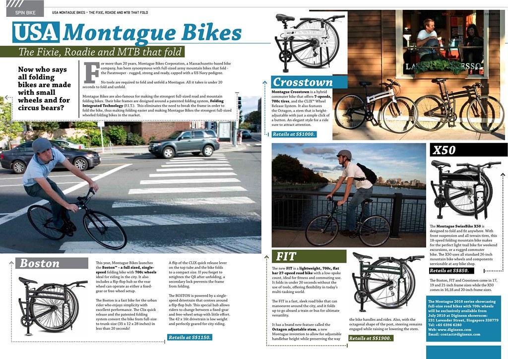 USA Montague Bikes-Spin