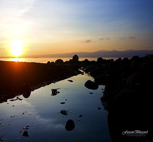 nature sunrise canon landscape rocks frontpage ozamiz ozamis catadman frozenblizzard