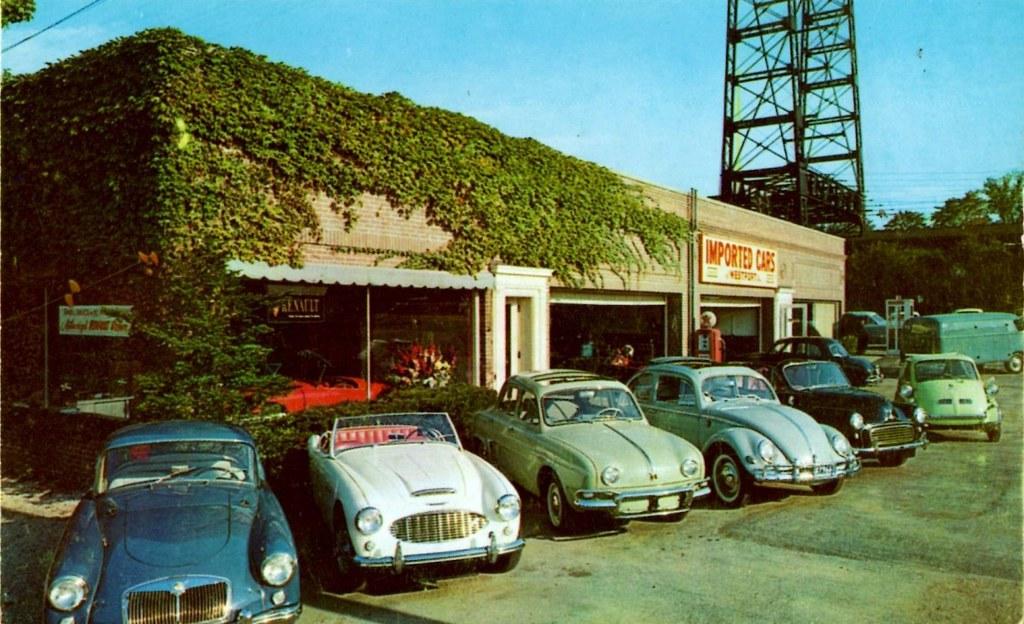 Imported Cars Of Westport Westport Ct 1950s Flickr